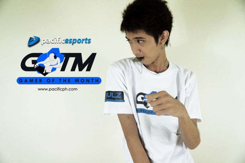 At Pacific eSports, when being voted Gamer of the month