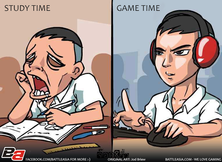 Study Time... Game Time!