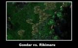 gondar vs rikimaru