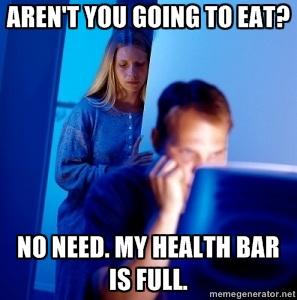 health bar full