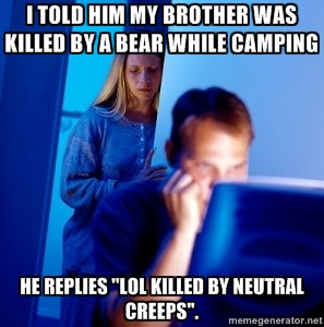 killed by neutrals