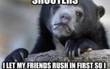 smart bear is losing friends